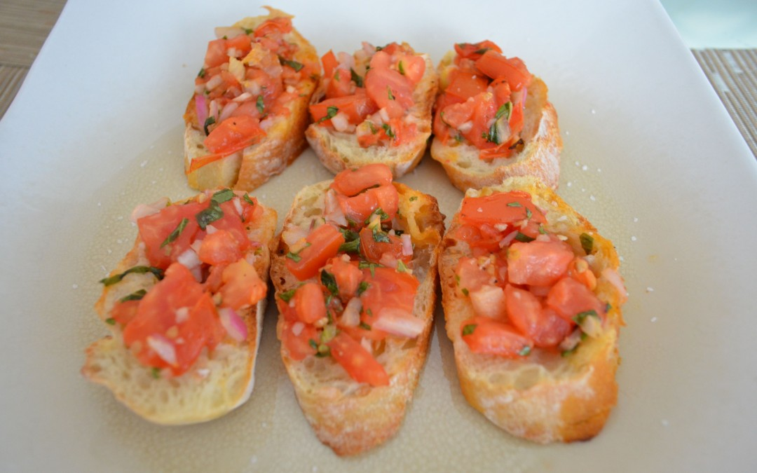 Tomato Facts and Bruschetta Video Recipe