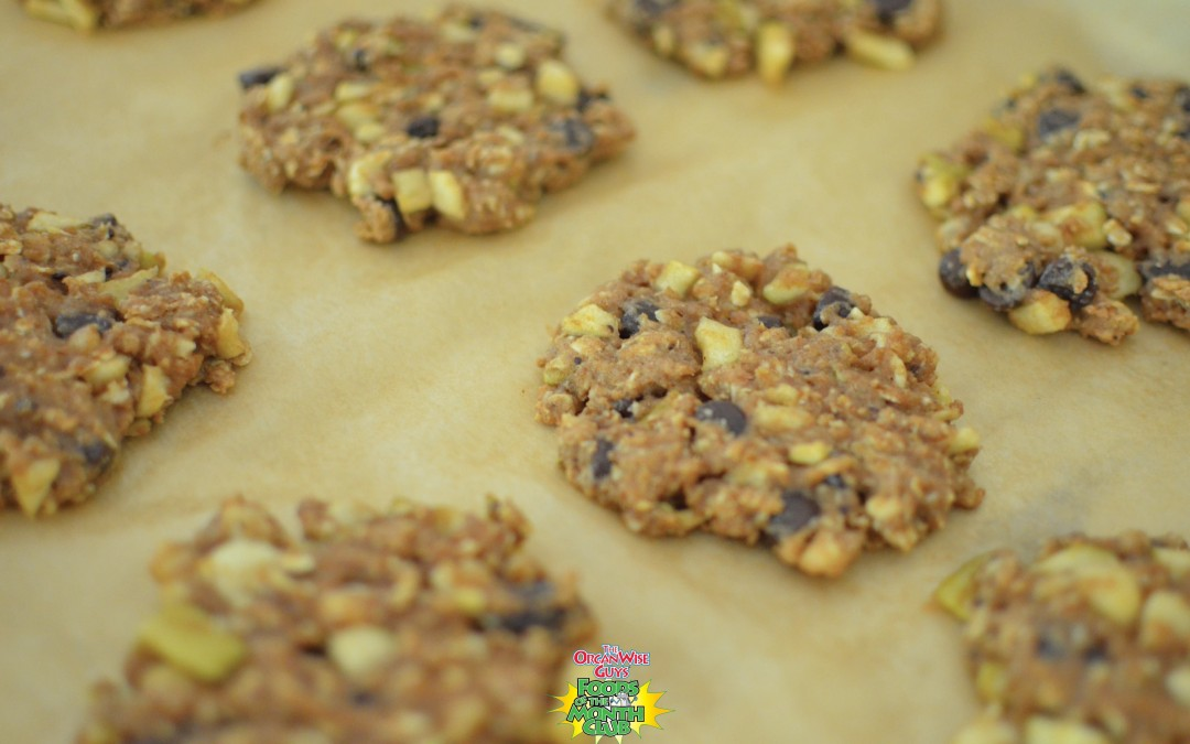 Healthy Candy Apple Cookies