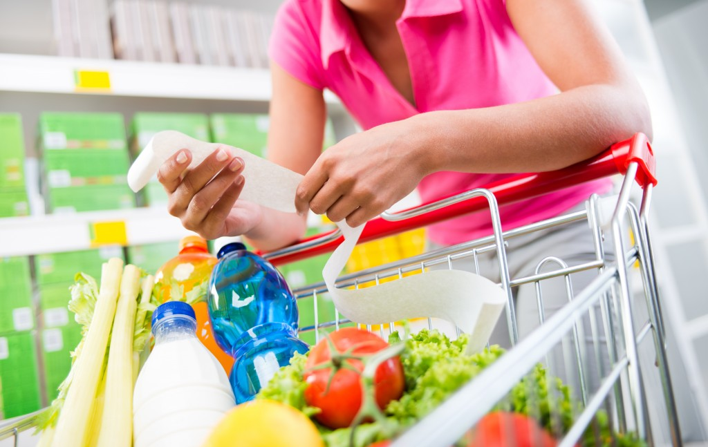 money saving tips for healthy shopping
