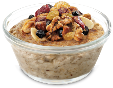ChickFilA - Oatmeal with toppings