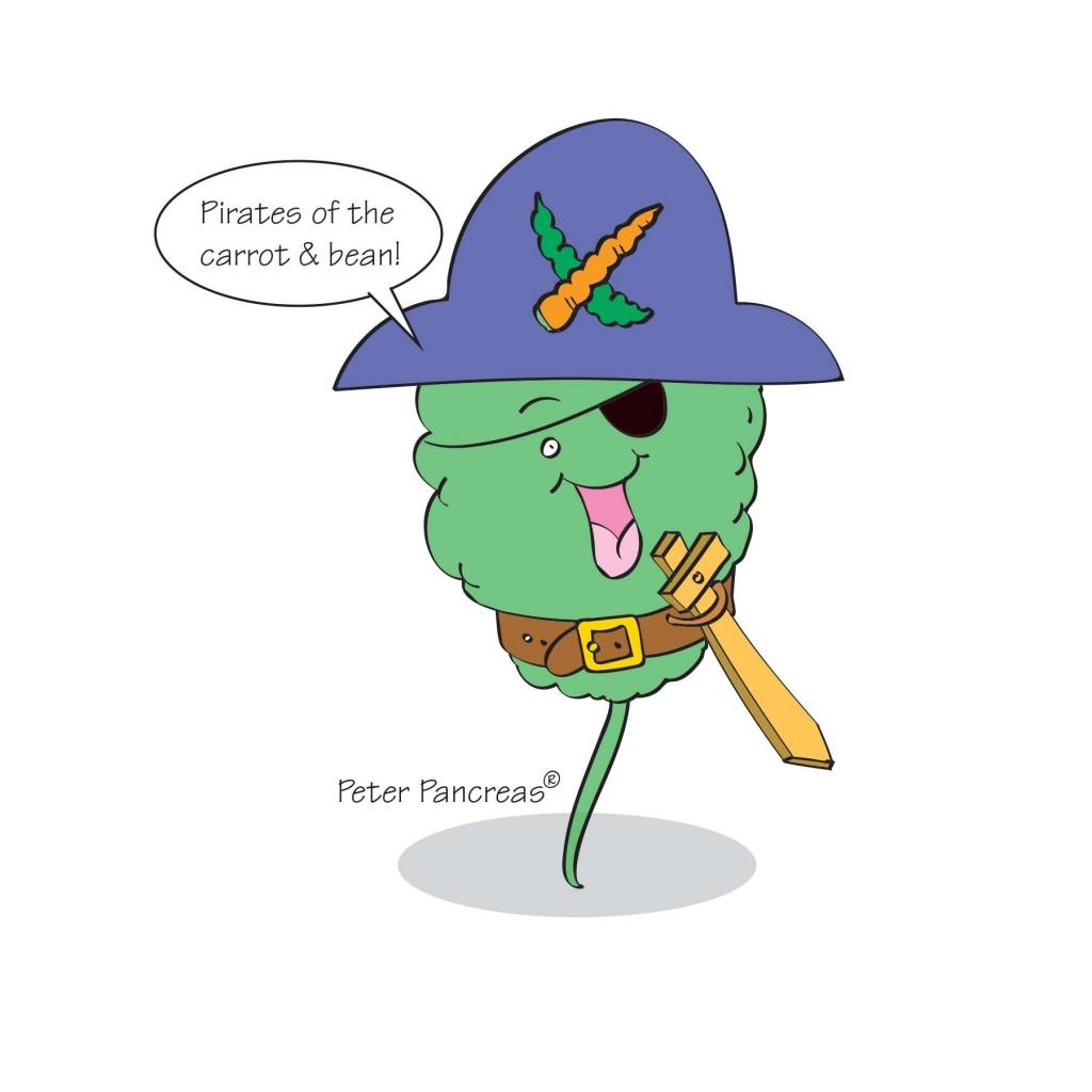 Peter Pancreas eat more fruits and veggies