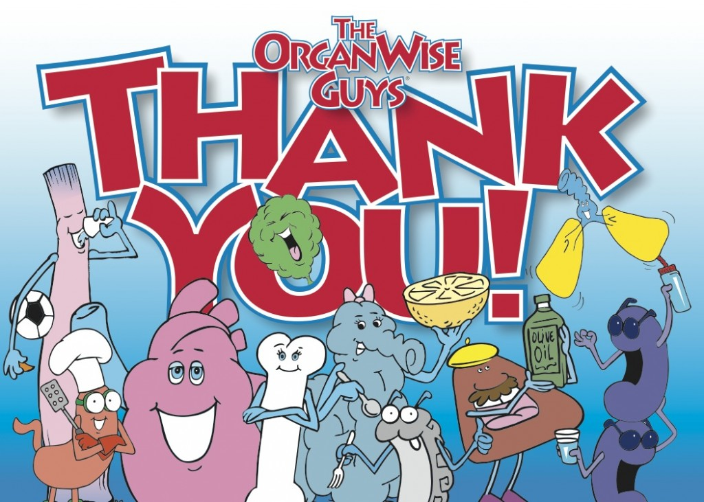 OrganWise Guys Thank You