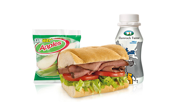 Subway Roast Beef Kids Meal