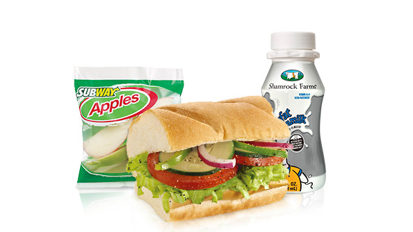Subway - Veggie Delite Kids Meal