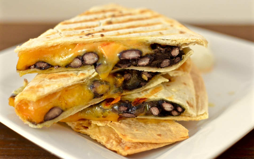 Black Bean and Sweet Potato Quesadilla