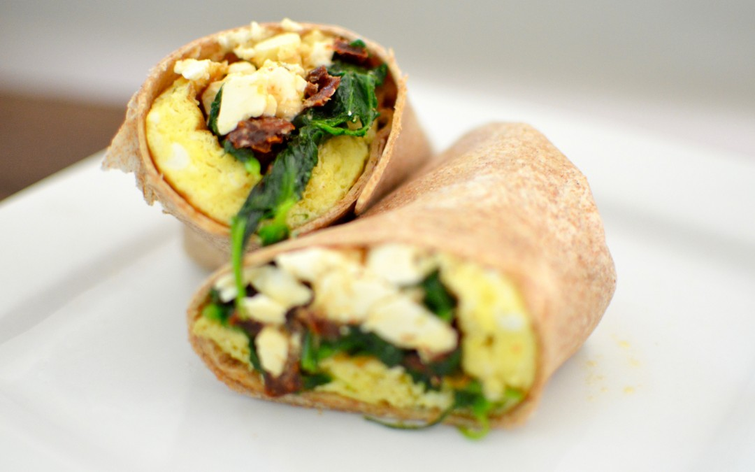 Copycat Starbucks Spinach Feta Wrap