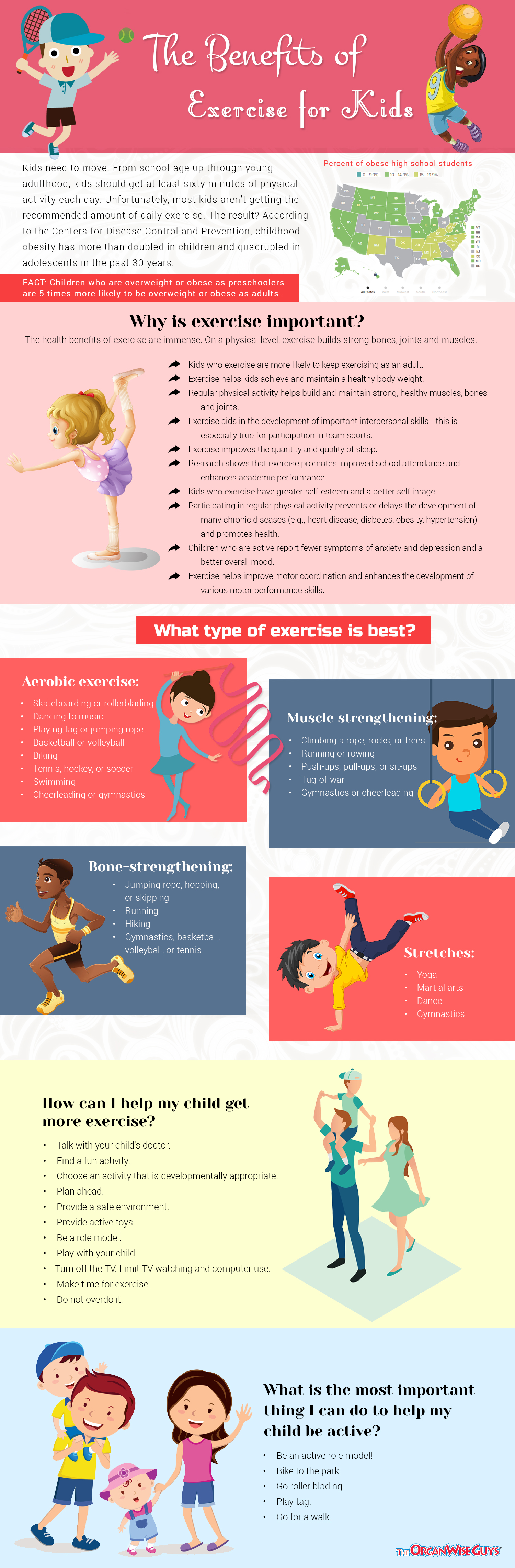 Benefits of Exercise for Kids
