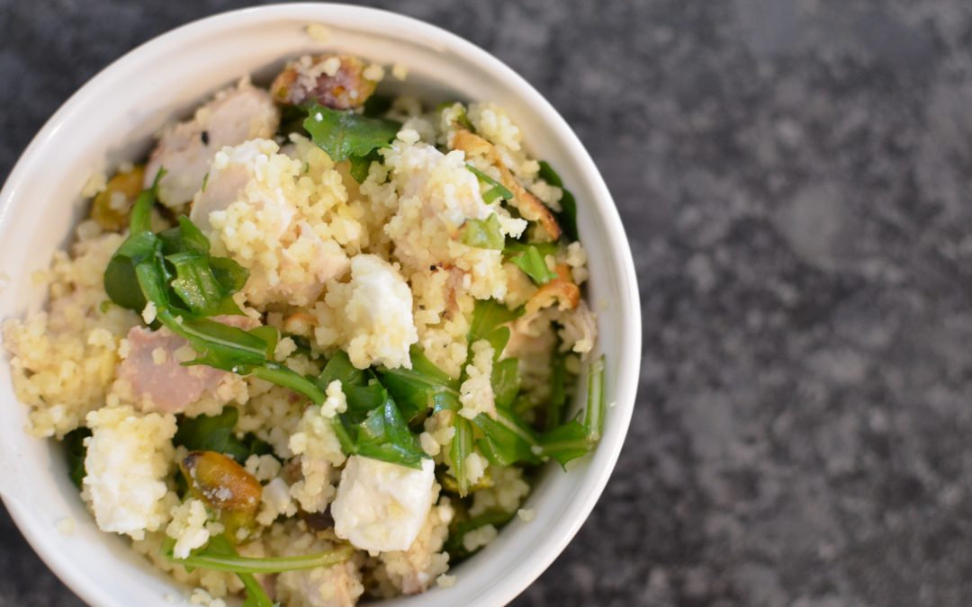 Healthy Couscous with Feta