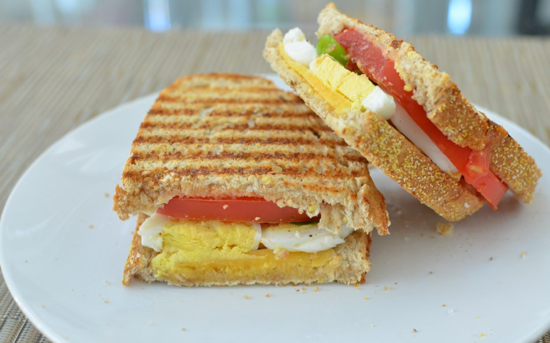 Simple Egg Sandwich