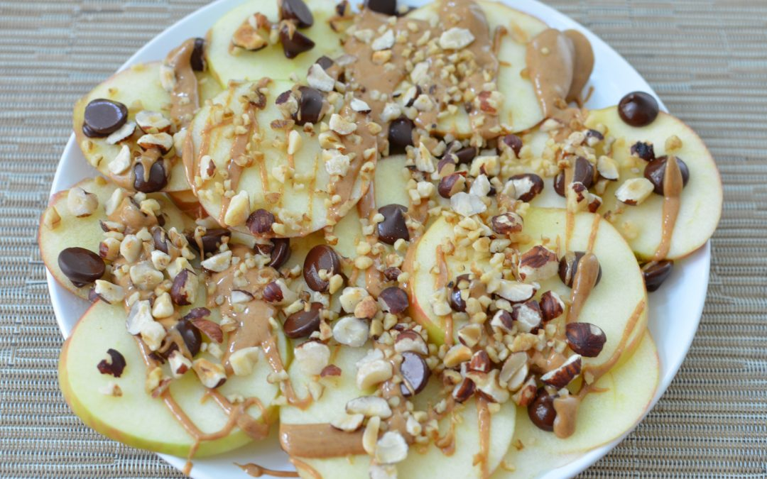 Nutty Apple Nachos