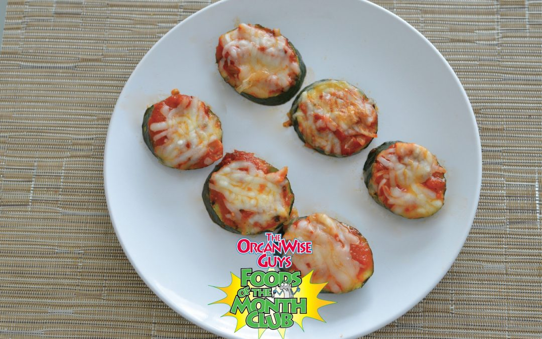 For Pizza Night, Try Mini Zucchini Pizzas!